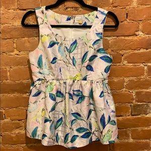 LEIFSDOTTIR sleeveless blouse from Anthropologie